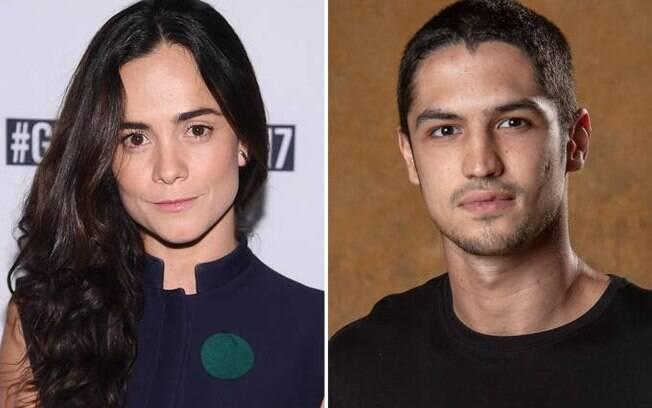 Alice Braga e Gabriel Leone serão Eduardo e Mônica em filme