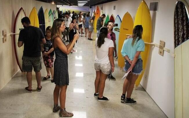 Exposição na Fiesp terá música, arte e cinema sobre o surfe brasileiro