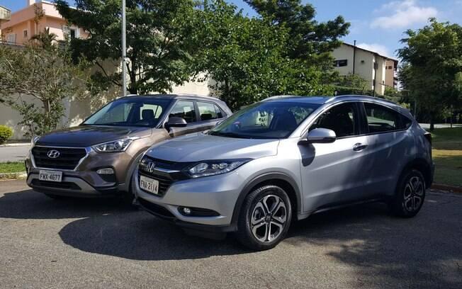 Hyundai Creta e Honda HR-V