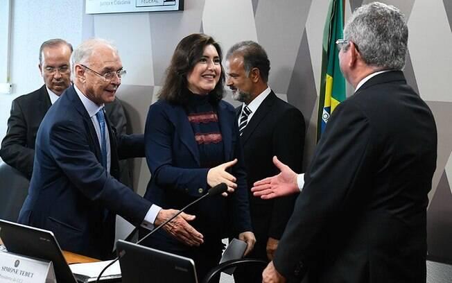Simone Tebet foi aclamada como nova presidente da CCJ do Senado; veja outros presidentes escolhidos para as comissões do Senado