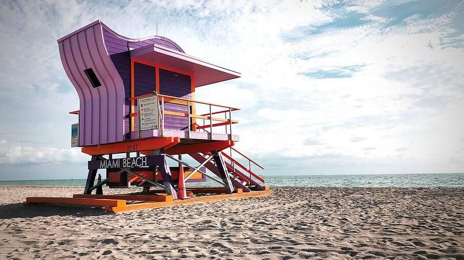 South Beath em Miami