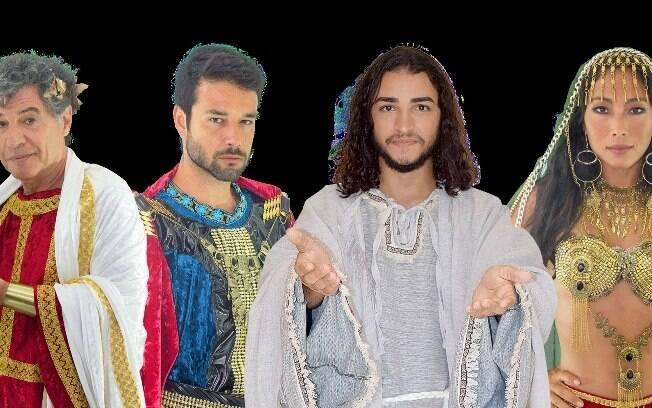 Paulo Betti, Sérgio Marone, Edson Oliveira e Danni Suzuki