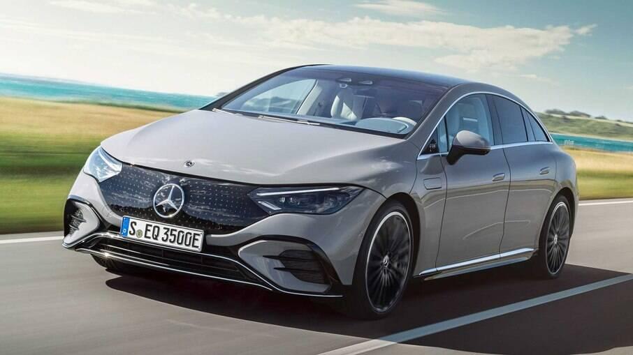 Mercedes-Benz EQE Sedan chega à Europa em 2022 e aos Estados Unidos em 2023
