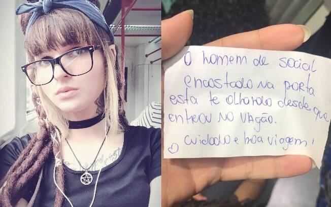 Elis decidiu compartilhar história no Facebook para mostrar que é possível ajudar mulheres a evitar um assédio em público