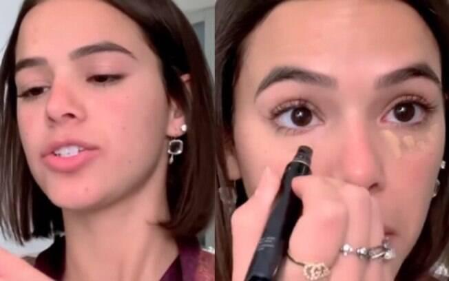Bruna Marquezine faz tutorial de beleza para Vogue americana