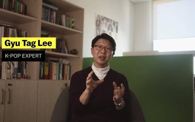 Especialista em K-Pop no programa de Explicando que se propôs a explicar essa nova febre mundial