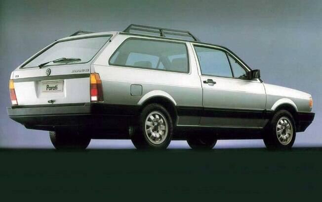 Mesmo com apenas duas portas e uma enorme janela que não abrir, era impossível não amar a Volkswagen Parati, por seu desempenho e beleza.