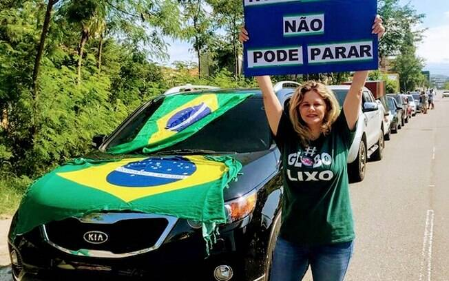 Apoiadores de Bolsonaro publicaram imagens das carreatas nas redes sociais; confira detalhes