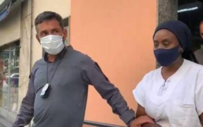 A mulher foi presa em flagrante no Rio de Janeiro