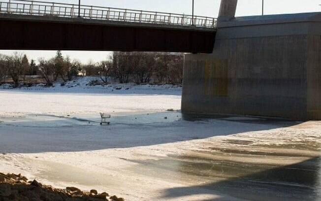 Várias vítimas foram encontradas neste rio, o Rio Vermelho do Norte