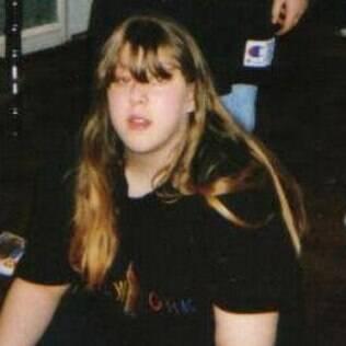 Jennifer Kaye aos 17 anos. A garota se assumiu lésbica aos 19 anos, depois de ser descoberta pela mãe