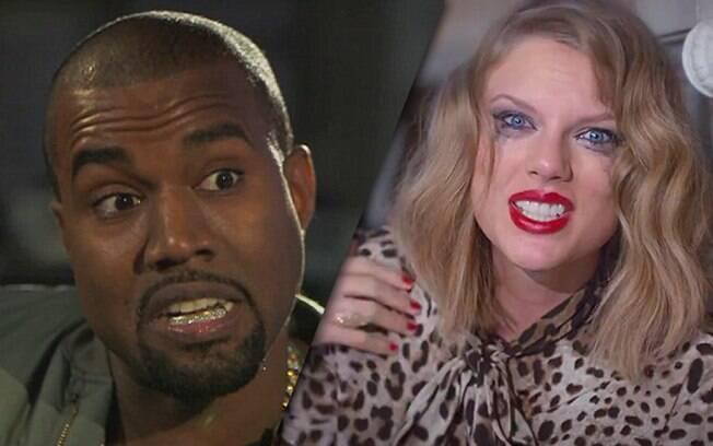 Kanye West chamou Taylor Swift de vadia em nova música