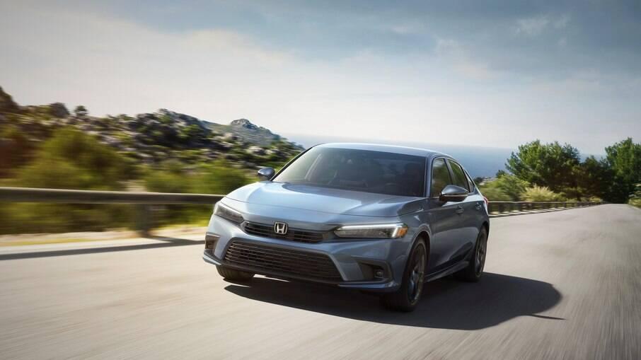 Honda Civic 2022 deverá chegar como importado ao Brasil, mas apenas a partir do ano que vem