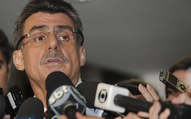 Vice-presidente do Senado, Romero Jucá, falou sobre o projeto em reunião com Joaquim Levy