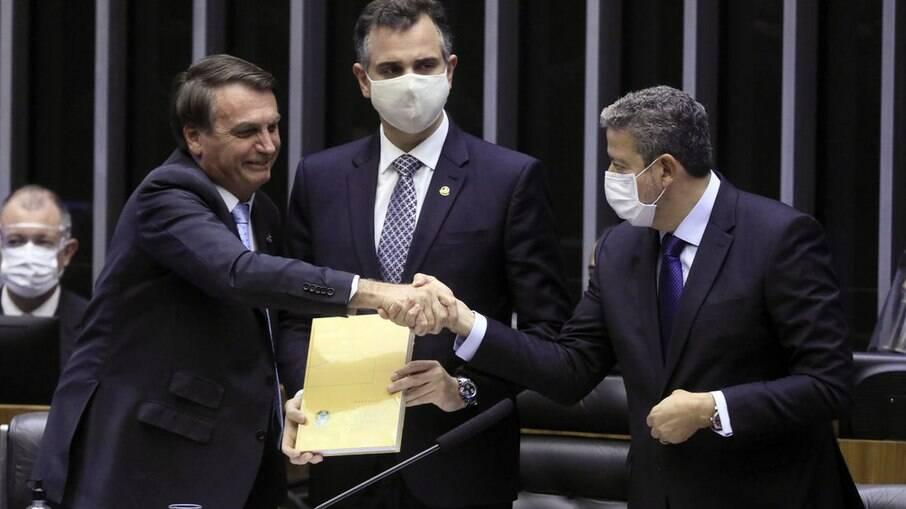 Bolsonaro, Lira e Pacheco