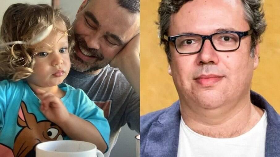 Carmo Dalla Vechia tem um filho com o escritor João Emanuel Carneiro