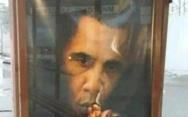 Obama largou o cigarro em 2010. Sua mulher disse que ele deixou o vício para dar bom exemplo