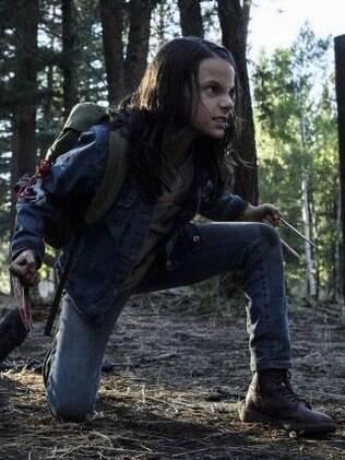 A jovem mutante Laura que é acolhida com a resistência esperada por Logan