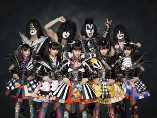 Em março, o grupo Momoiro Clover Z participa da última apresentação de 40 anos do Kiss
