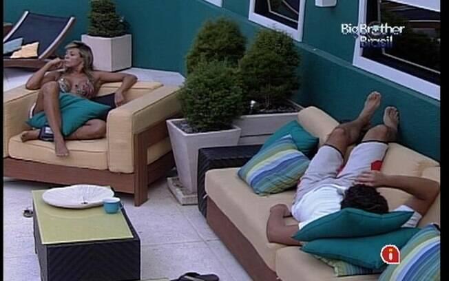 Fabiana acredita que Kelly vencerá Jonas no Paredão