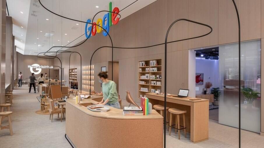 Primeira loja física do Google