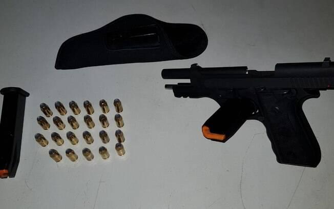 Guarda Municipal apreendeu arma de fogo durante operação da Lei do Pancadão
