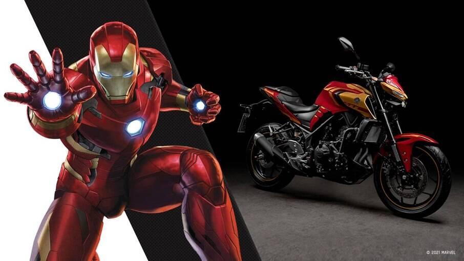 Série limitada da Yamaha MT-03 Homem de Ferro é lançada com preço sugerido de R$ 27,7 mil
