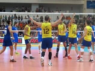 Brasil teve dificuldades contra a Itália, em Trento