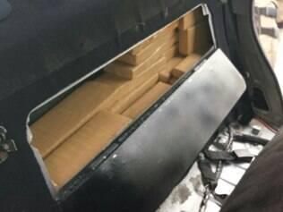 Foram apreendidos 71.125 kg de maconha e 1.316 kg de crack