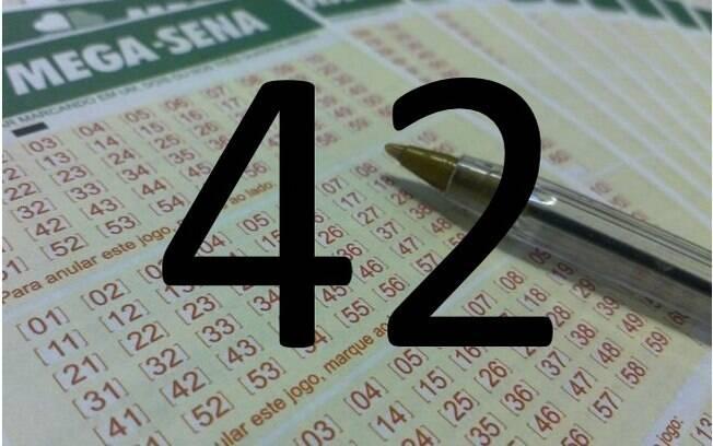 O número 42 também já saiu 197 vezes. Foto: Divulgação