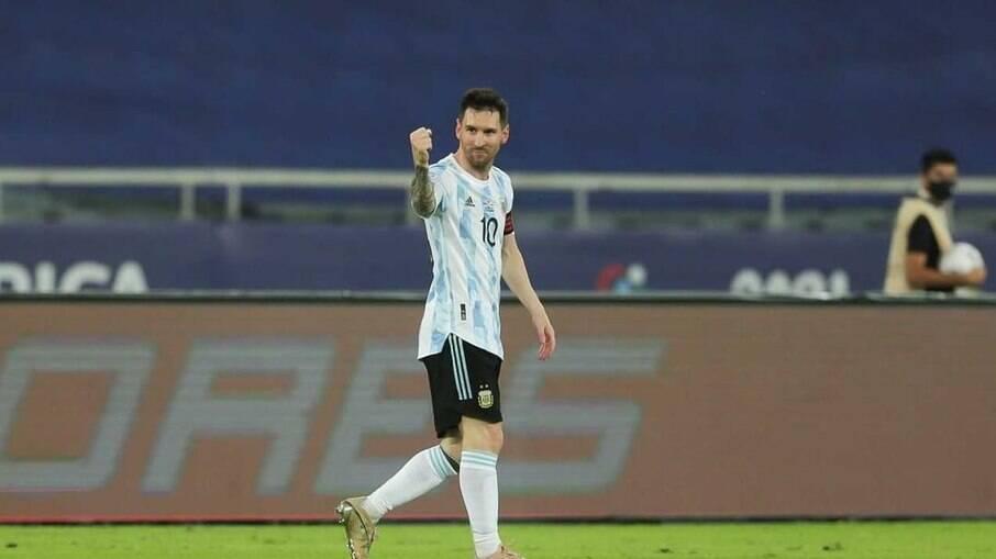 Messi estará em campo em jogo da Copa América