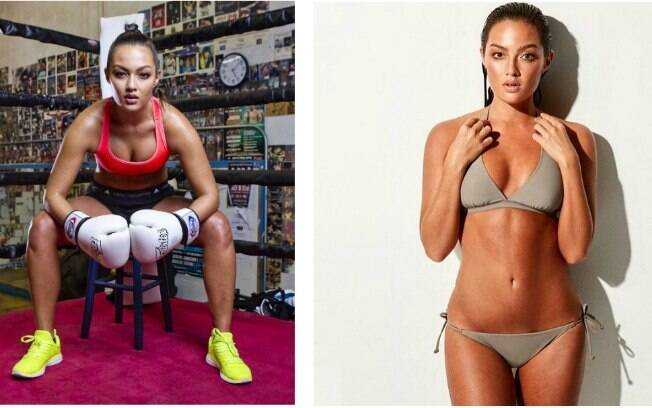 Mia Kang era modelo, mas decidiu virar lutadora de Muay Thai profissional