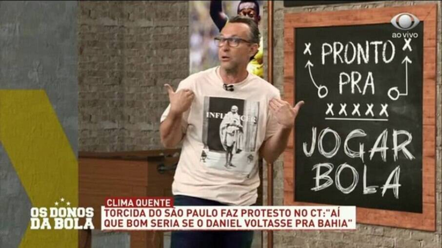 Neto detona fala do 'coach' Daniel Alves: 'Não quero Fernando Diniz na minha vida'