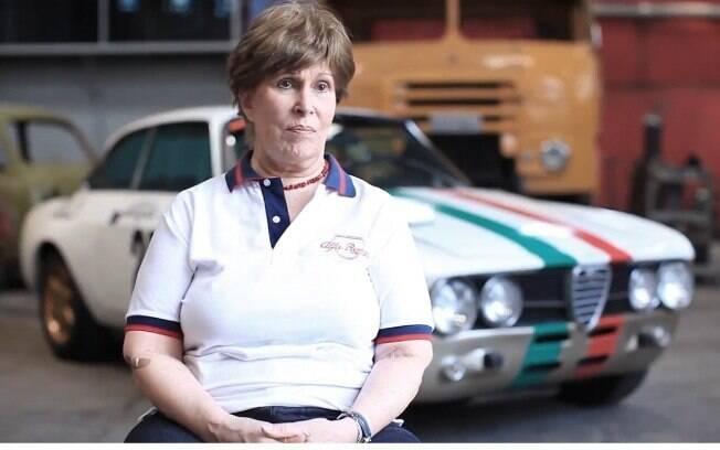 Graziela Fernandes, que foi piloto de Alfa Romeo nos anos 70, participou do evento