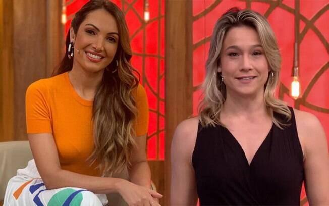 Fernanda Gentil e Patrícia Poeta