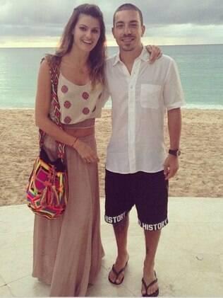Isabelli Fontana e Di Ferrero em Barbados