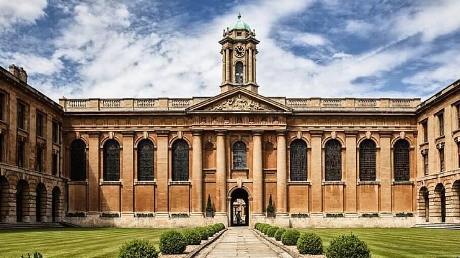 Registro da Universidade de Oxford, no Reino Unido