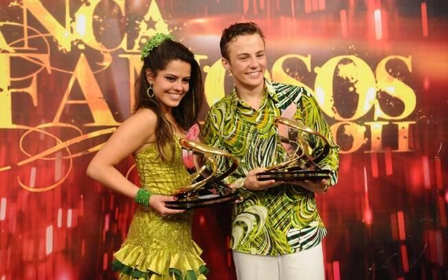 Miguel Roncato e Ana Flávia