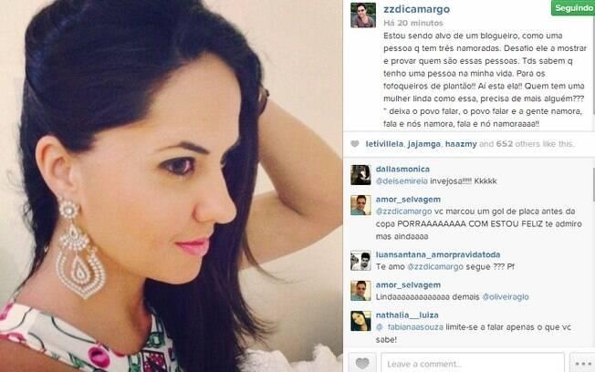 Após dois anos juntos, Zezé Di Camargo assume namorada