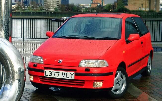 Fiat Punto GT: versão esportiva que não tivemos no Brasil, mas na Europa houve até com motor turbodiesel
