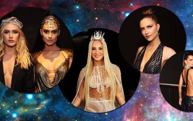 A edição de 2017 do Baile da Vogue, festa do periódico de moda, recebeu personalidades ilustres do mundo da fama nesta quinta-feira (16)