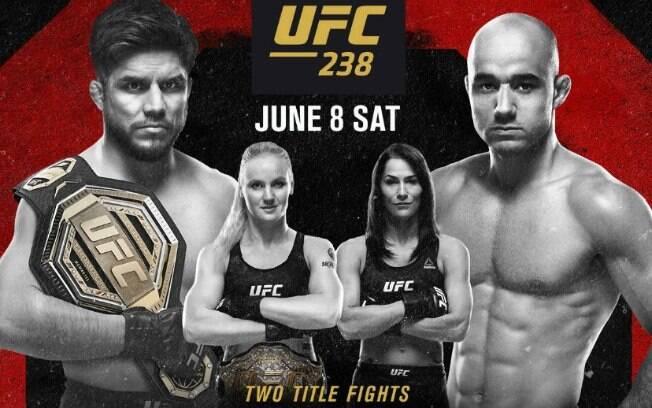 UFC 238 terá duas disputas por cinturão