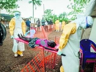 Grave. Entre 632 casos de ebola que até então haviam resultado em mortes na África, 206 foram em Serra Leoa