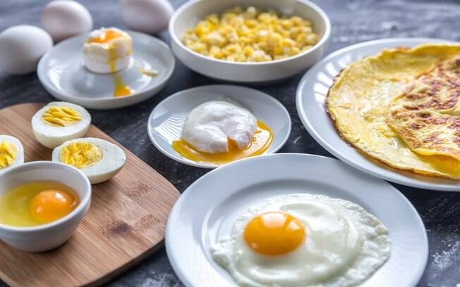 É possível variar nas receitas com ovos e sair do comum na hora de preparar o alimento
