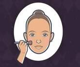 Aprenda os truques de acordo com a cor da sua pele e formato de rosto