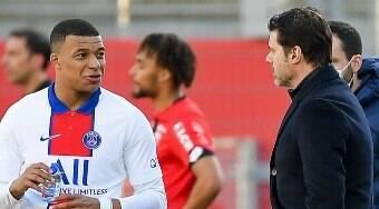 Mbappé já avisou Pochettino que não vai renovar com PSG, diz jornal