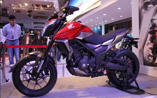 Novos lançamentos de motos da Honda podem adotar o visual do conceito CX-01, já montado sobre a plataforma inédita