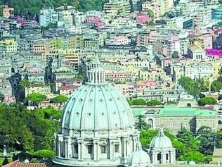 Banheiros.  Duchas vão ser instaladas na Basílica de São Pedro