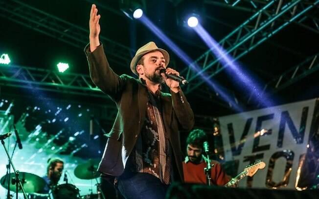 Bruno Morais no encerramento do Vento Festival