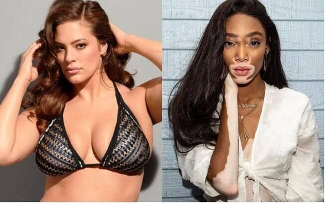 As modelos Ashley Graham e Winnie Harlow são as maiores inspirações para Jennifer nesse processo de autoaceitação
